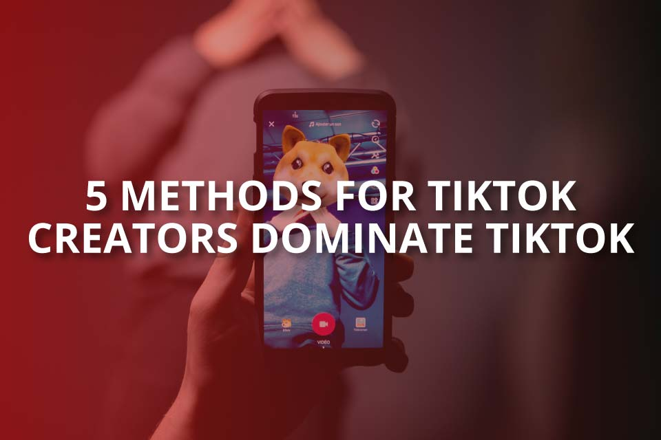 5 Methods for TikTok Creators Dominate TikTok
